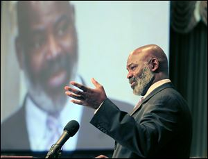 Toledo Mayor Mike Bell concluded his State of the City by announcing his intention to run for re-election. The crowd stood and applauded. Some political leaders later, however, said the timing of his announcement was not appropriate and it should have been a separate event from the State of the City speech.