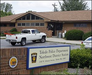 The police department's Northwest District Station has been closed since July as part of a move to save money.