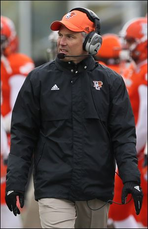Bowling Green State University head coach Dave Clawson.