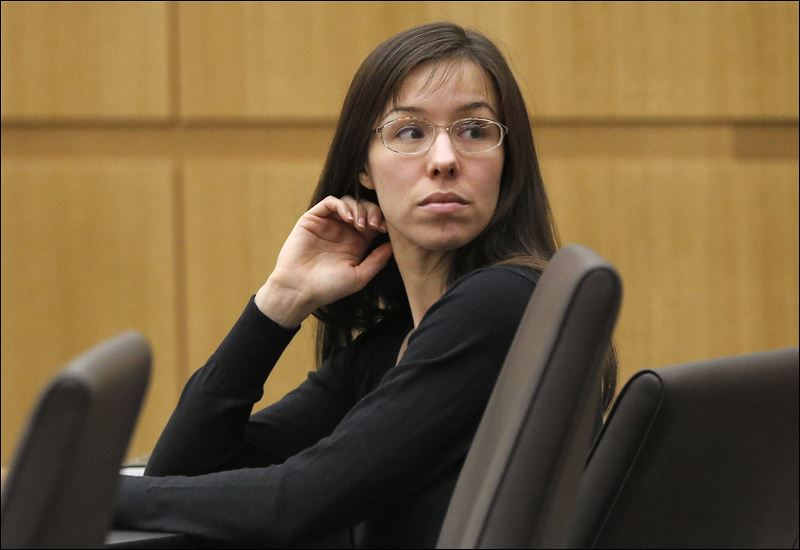 Jodi Arias appears for her trial in Maricopa County Superior court in ...