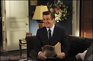 Alec Baldwin plays Jack Donaghy in a scene from the series finale of '30 Rock.'