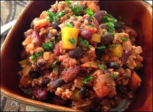 A Super Bowl of Chili is perfect for game night or any night you crave a big bowl of hearty chili.