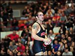 Former Oak Harbor wrestler C.J. Magrum will return today with Ohio State.
