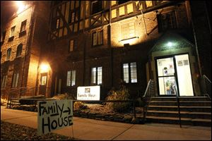 Family House is Toledo's largest family homeless shelter.