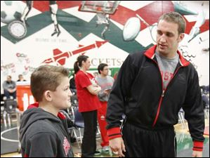 Ohio State University wrestler Cody Magrum speaks with Zach Losie, 11.