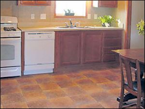 Home chefs will love cooking in this large, eat-in kitchen. Quality GE appliances are included.