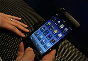 The Z10 is easier to use than an Android phone. It is more difficult to use than the iPhone, but it is also more powerful, giving you faster access to your email, tweets, Facebook status updates and text messages.
