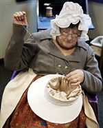 Fort-Meigs-hat-sewing