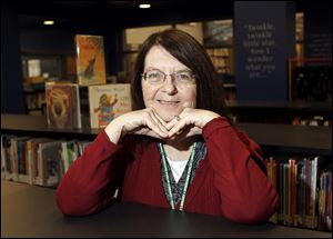 Children's librarian Sandy Sheehy retired on Jan. 30 after working the past 30 years at the Rossford Public Library. She previously worked at the Toledo-Lucas County Public Library.