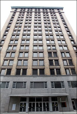 The Nicholas Building was to be sold Thursday at a sheriff's auction, but officials at the sale said the Ohio Board of Tax Appeal ruled in favor of a request to lower the value and with it the delinquent taxes owed.