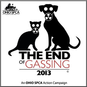 The Ohio Society for the Prevention of Cruelty to Animals wants to stop the practice of  using gas chambers to euthanize animals.