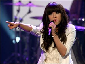 Carly Rae Jepsen had a monster hit last year with 'Call Me Maybe.'
