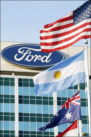 Ford was the top individual brand in metro Toledo, producing four of the top 10 selling vehicles in 2012.