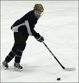 Colin Suter, a senior forward, has 21 goals and 29 assists for the Titans, who have been ranked No. 2 all season in Division I in the Ohio coaches poll.
