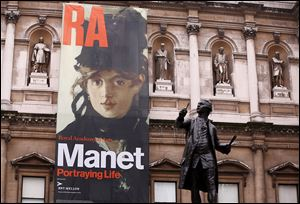 The Royal Academy of Arts in London features 'Manet: Portraying Life,' which was co-curated by the Toledo Museum of Art.