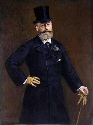 Edouard Manet Portrait of M. Antonin Proust, 1880 Oil on canvas.