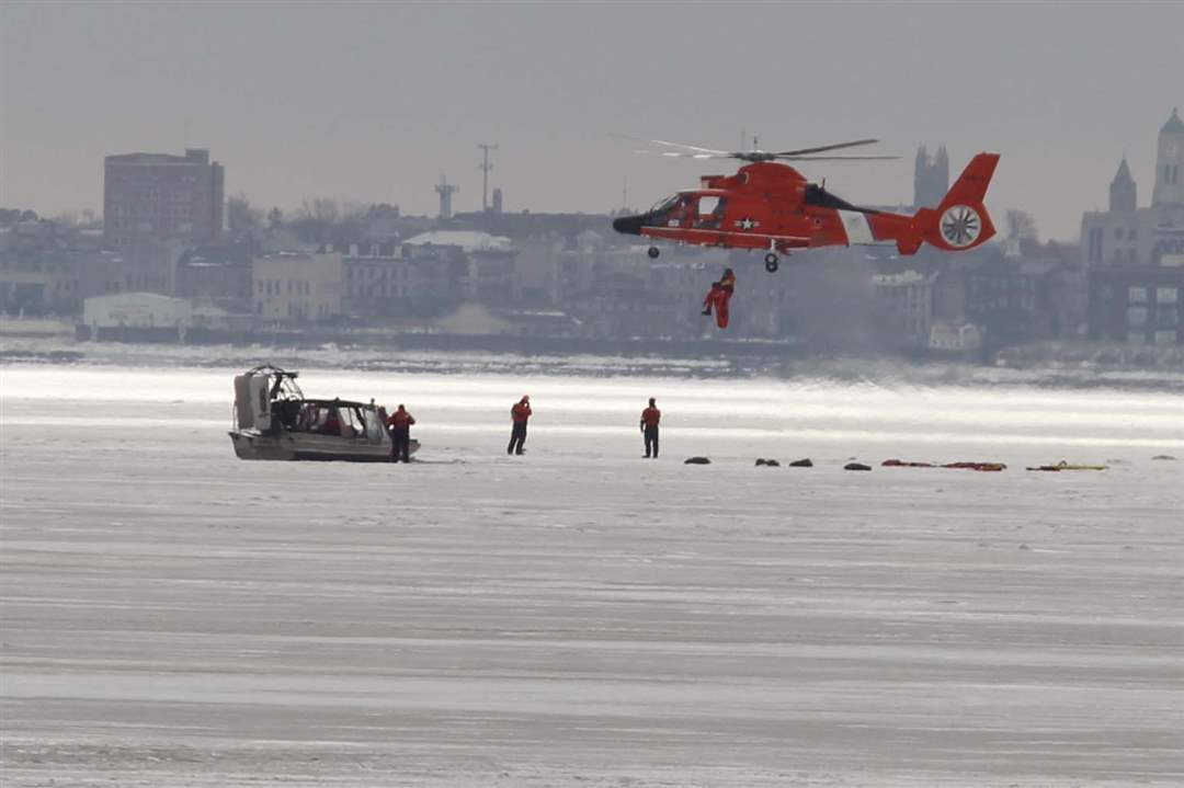 Ice-rescue-exercise-extracting-victim
