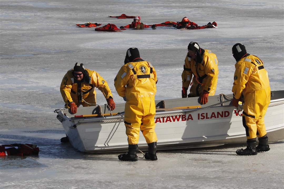 Ice-rescue-exercise