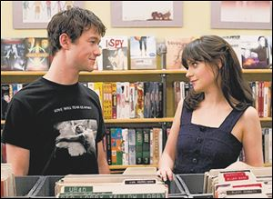 "Joseph Gordon-Levitt, left, and Zooey Deschanel are shown in a scene from ""500 Days of Summer."""