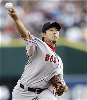 Daisuke Matsuzaka was 18-3 with the Red Sox in 2008 and finished fourth in Cy Young voting, but he is coming off of Tommy John surgery in 2011 and a 1-7 record last season.