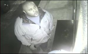 This image provided by the Irvine Police Department shows Christopher Dorner from Jan. 28, 2013 surveillance video at an Orange County, Calif., hotel. More than 100 officers, including SWAT teams, were driven in glass-enclosed snow machines and armored personnel carriers in Big Bear Lake to hunt for this former Los Angeles police officer suspected of going on a deadly rampage to get back at those he blamed for ending his police career.