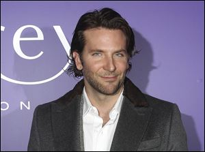 Actor Bradley Cooper arrives at the EE British Academy Film Awards Nominees Party at Asprey, in central London, Saturday night.