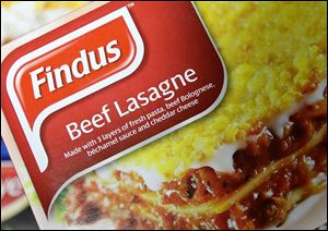 Frozen-food company Findus recalled the beef lasagne meals earlier this week after French supplier Comigel raised concerns that the products didn't