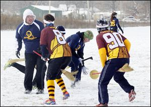 UT and Loyola Quidditch teams compete during The Glass City Quidditch Classic at  Bowman Park. The Glass City Quidditch Classic is a two-day coed competition based on the game from the Harry Potter books.