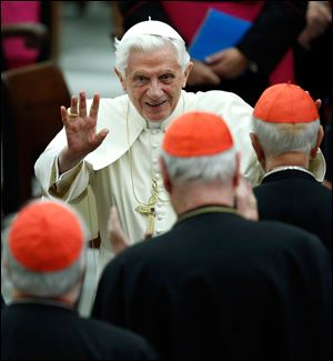 Pope Benedict XVI announced today he would resign Feb. 28, the first pontiff to do so in nearly 600 years.