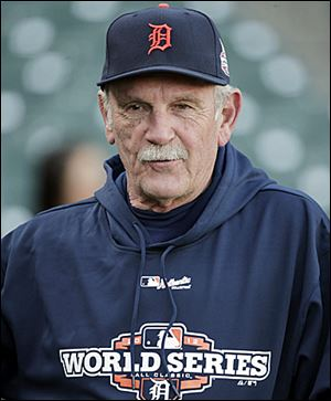 Manager Jim Leyland started in the Detroit organization as an 18-year-old catcher.