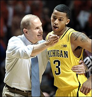 Michigan coach John Beilein and Trey Burke have the Wolverines ranked No. 4.