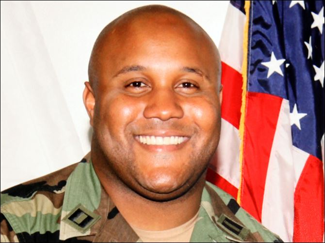 Suspect Christopher Dorner Suspect Christopher Dorner, a former Los Angeles officer.