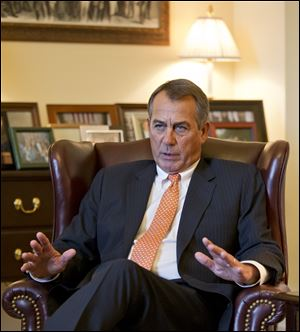 Speaker of the House John Boehner, R-Ohio, responds to President Obama's State of the Union speech.