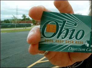 Ohio began distributing food assistance via electronic cards in 1997.