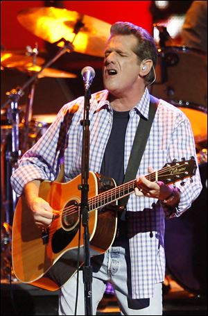 Glenn Frey of the Eagles performs in 2007.