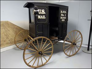 A 1906 Harrington rural mail coach.