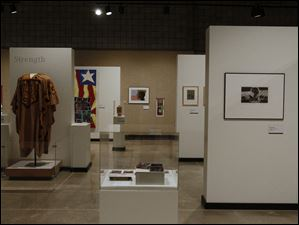 Since January 26 the museum has had a gallery showing featuring the exhibit