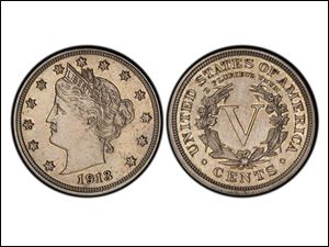 An authentic 1913 Liberty Head nickel that was hidden in a Virginia closet for 41 years after its owners were mistakenly told it was a fake.