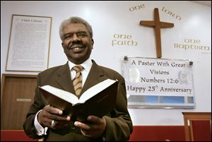 The Rev. Robert Wormely was pastor of Southern Missionary Baptist Church in Toledo for 27 years before his death in 2010.
