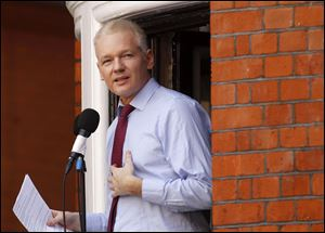 WikiLeaks founder Julian Assange regards his bid to become an Australian senator as a defense against potential criminal prosecution in the United States and Britain, a news Web site reported today.