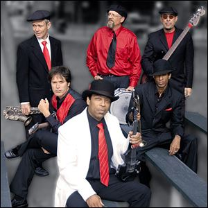 The Lionel Young Band is the headliner for the signature event of the annual blues festival.