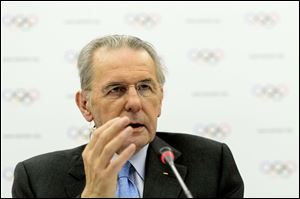 International Olympic Committee, IOC, President Jacques Rogge.