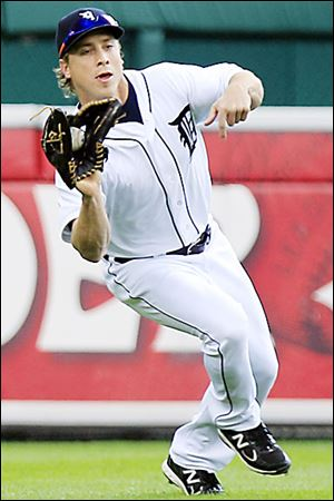 The Tigers' Andy Dirks had inflammation in his right Achilles tendon last year that sidelined him in June and July. He has yet to play a full season.