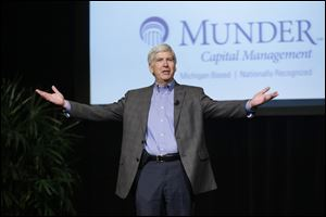 Michigan Gov. Rick Snyder, shown at this previous event, could be headed toward naming an emergency manager of the city of Detroit.