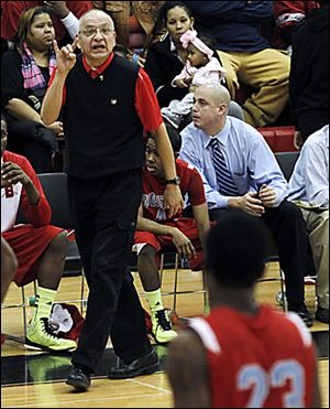 Bowsher's Joe Guerrero, 59, has coached for 26 years at three schools.