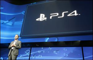 Andrew House, President and Group CEO, Sony Computer Entertainment, introduces PlayStation 4 for the first time.