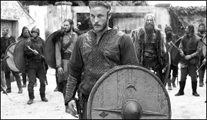 Travis Fimmel stars as Ragnar Lothbrok in the History channel's first scripted series 'Vikings.'