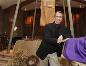 The Rev. Sam Buehrer will be installed Sunday as the new pastor at Sylvania United Church of Christ.