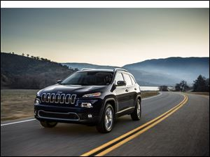 All-new 2014 Jeep Cherokee Limited.