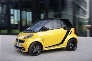 Of all of the cars on the list, the 2013 Smart ForTwo is the only one that requires pricey premium fuel.